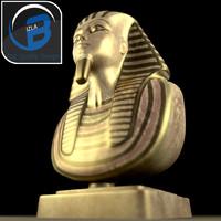 Tutankhamun Pharaoh Bust