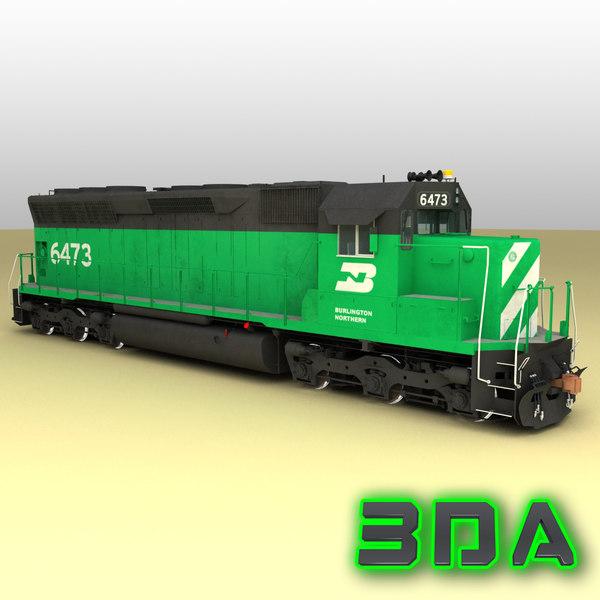 emd sd45 engines bn max