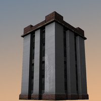 3d model of military building