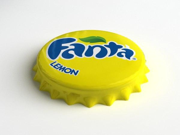 max fanta bottle tin cap