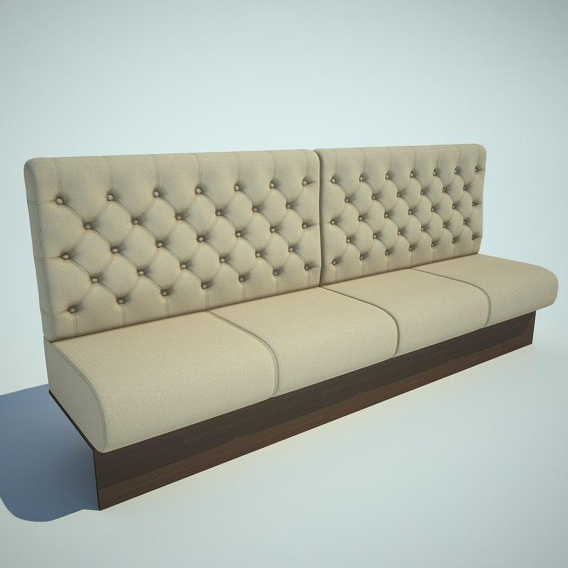 3d model sofa bar