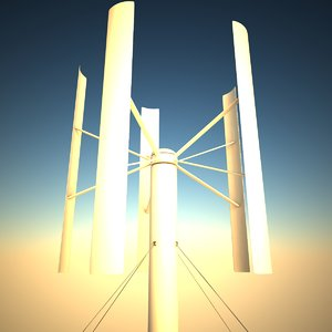 3ds max wind turbine