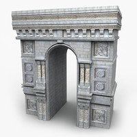 structure decorative 3d model
