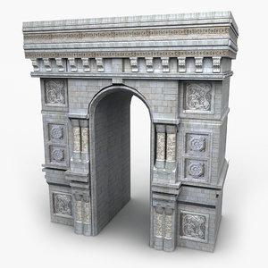 structure decorative 3d model
