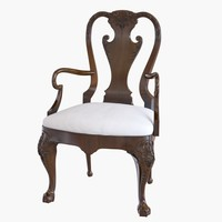 Baker armchair 5343 GEORGE I ARM CHAIR
