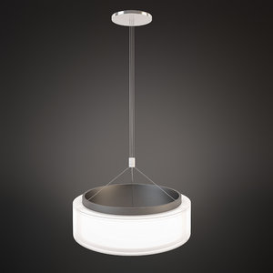 chandelier norlight bubble 600 3d model