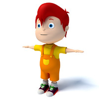 Cartoon Kid Character
