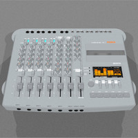 cassette track recorder c4d