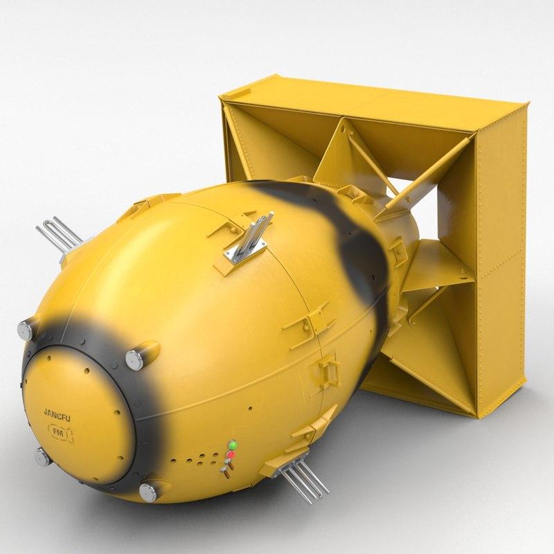 3d world war nuclear fat man