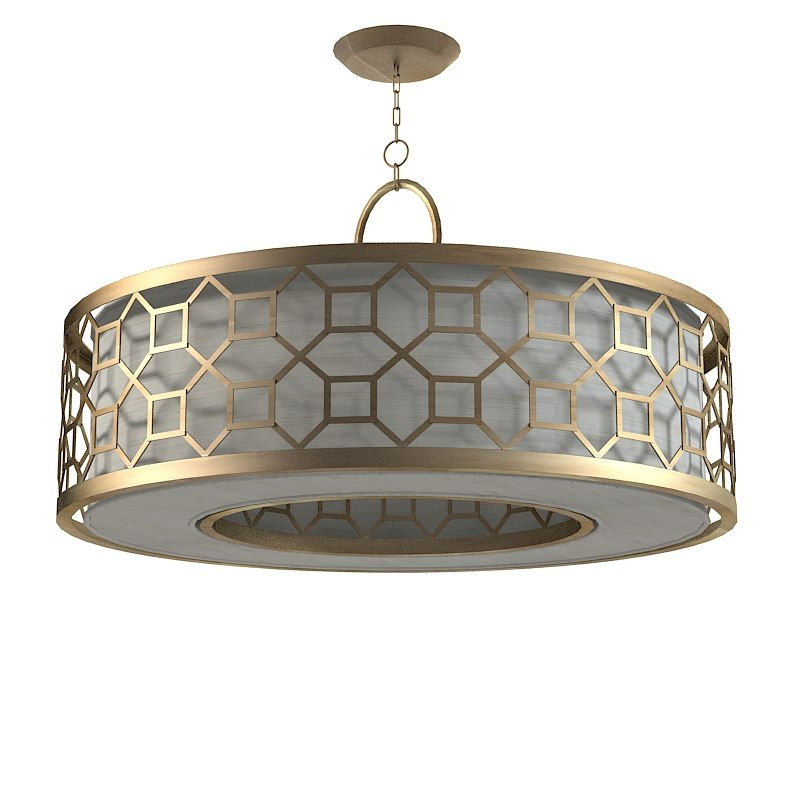 Industrial Ceiling Light 3ds Max: 3ds Max Fine Art Lamps