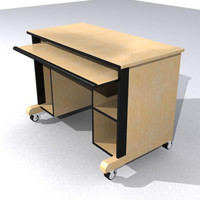 computer desk x