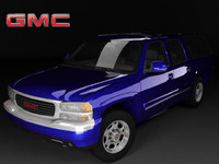 3d model gmc yukon xl