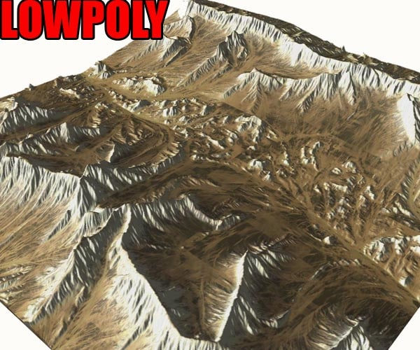 landscape terrain 3d c4d