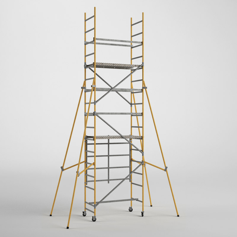 3ds scaffold tower