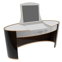 3d model of turri night stand