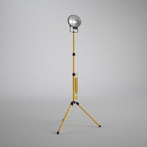 single work light 3ds