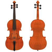 Violin: Traditional Wood Finish
