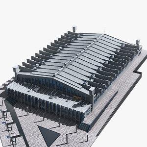 3d wembley arena