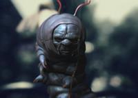 bug wonderland polys 3d obj