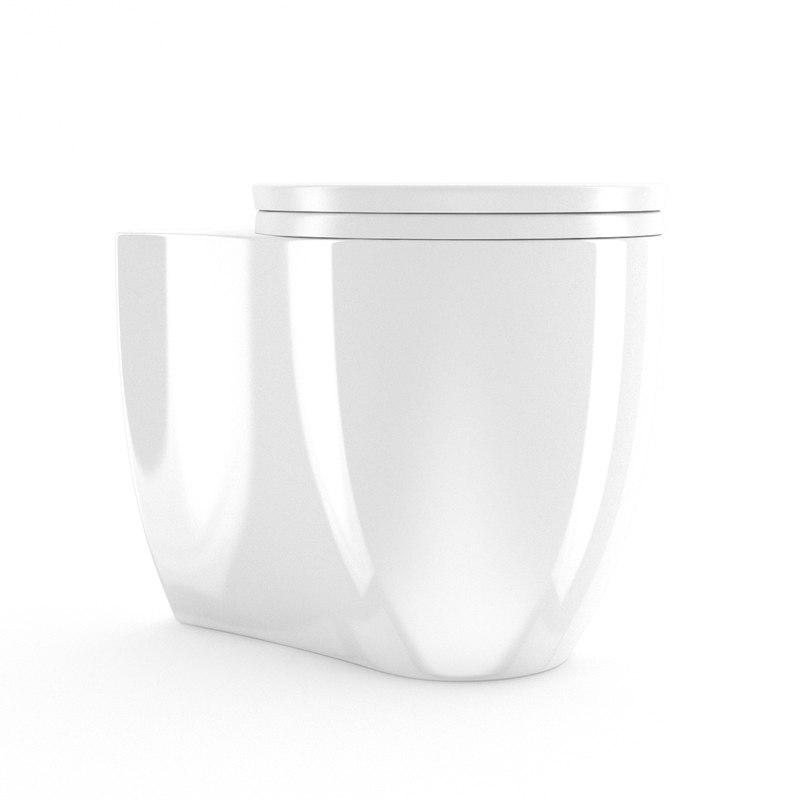 3ds max toilet bowl