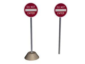 x enter sign