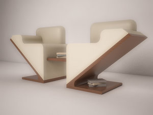 3d double chair read