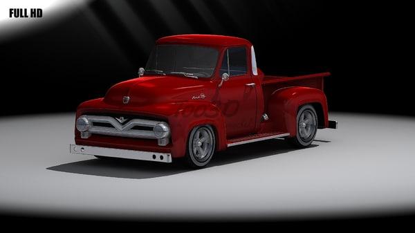 f100 3d model