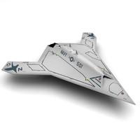 X-47b LowPoly