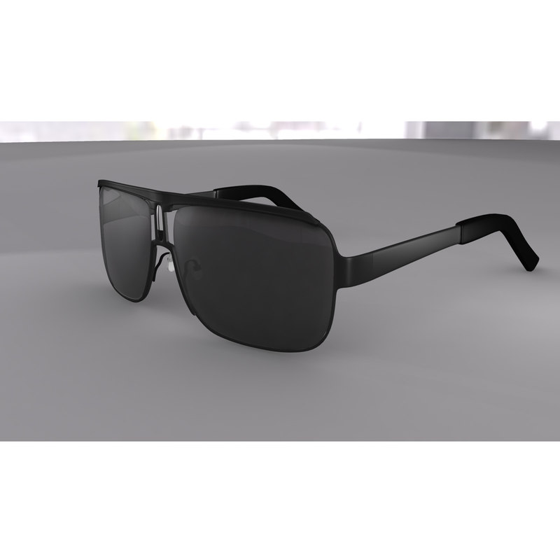 glasses carrera 3d obj