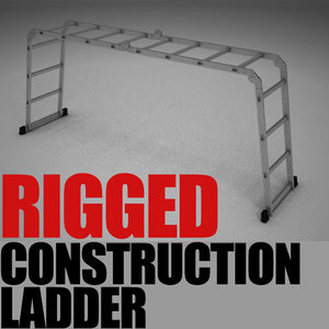 construction ladder 3ds