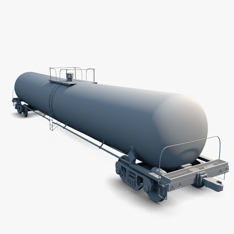 3ds max tank car