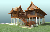 Thai traditional house