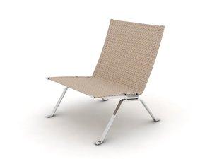 pk 22 chair 3d max