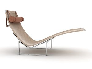 pk 24 lounge chair 3d model