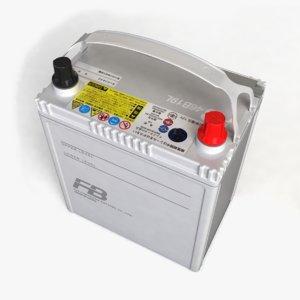 car battery 43 3d model