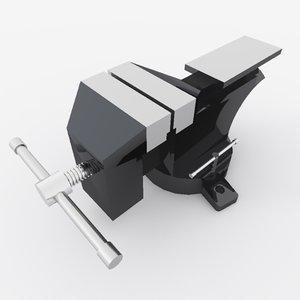 vise clamp tool 3d max