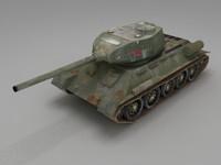 ussr tank 3d max