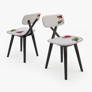chair 5 o clock 3d model