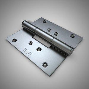 3d metal hinge