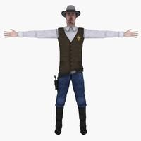 Sheriff Lowpoly