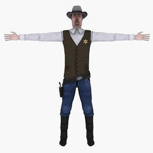 sheriff gun hat max
