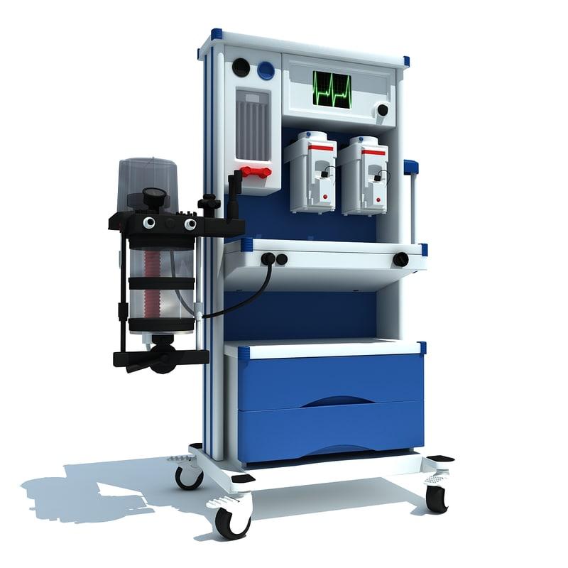 medical equipment 3d 3ds