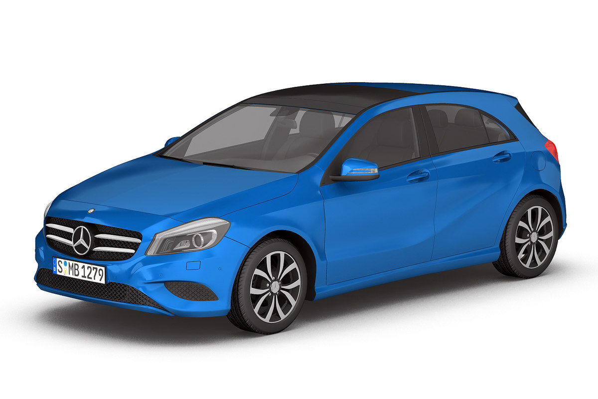 3d model mercedes benz cl