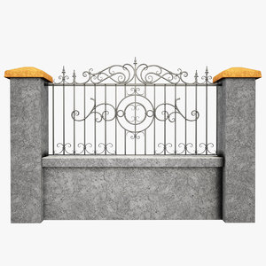 max wrought iron fence metal