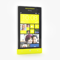 HTC Windows Phone 8S Smartphone Gris / Amarillo