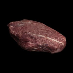 3d steak beef raw
