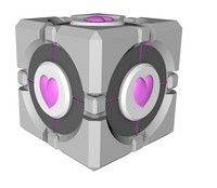 free c4d mode companion cube