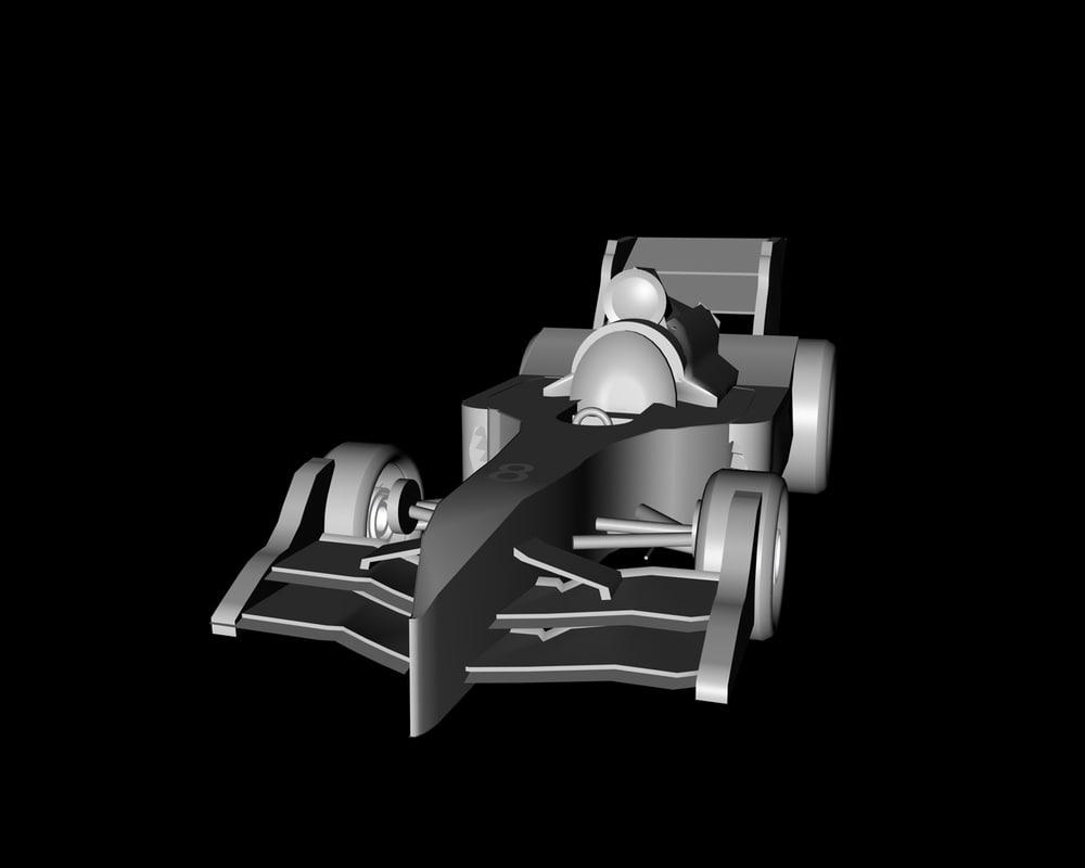 c4d formula car