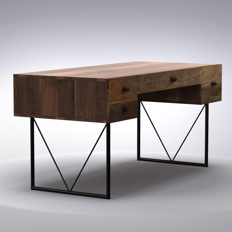 Crate And Barrell Desk Hostgarcia
