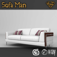 illinois sofa 3d max